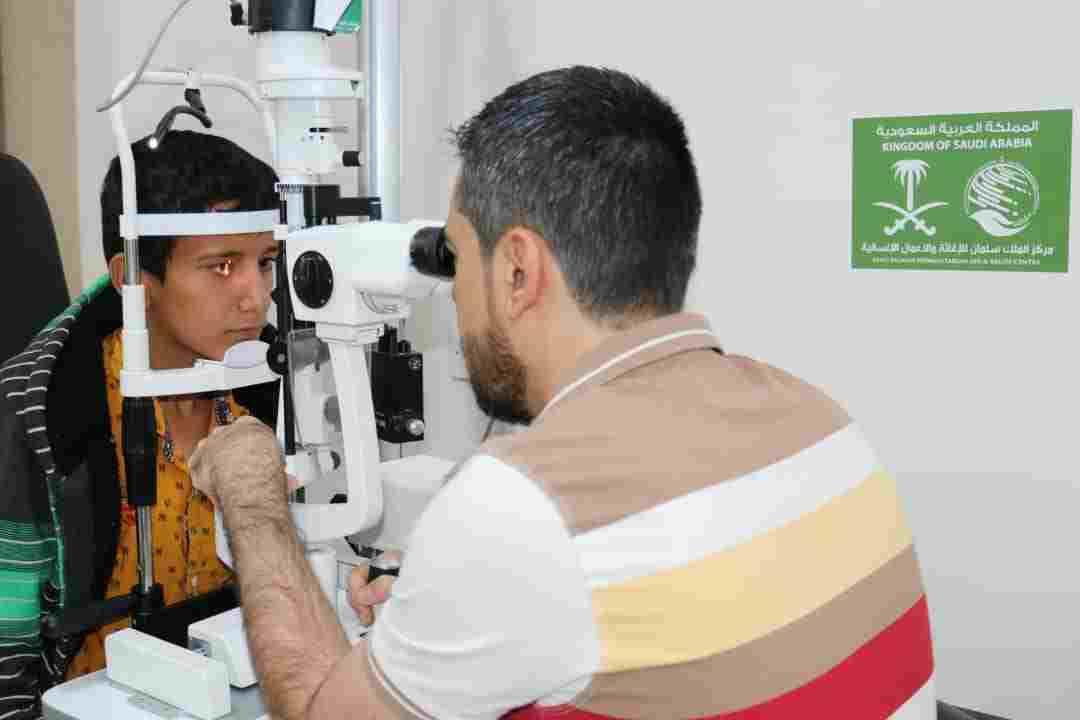 مؤسسة البصر الخيرية العالمية تقدم أكثر من 58 ألف خدمة علاجية للمستفيدين بدعم من مركز الملك سلمان للإغاثة