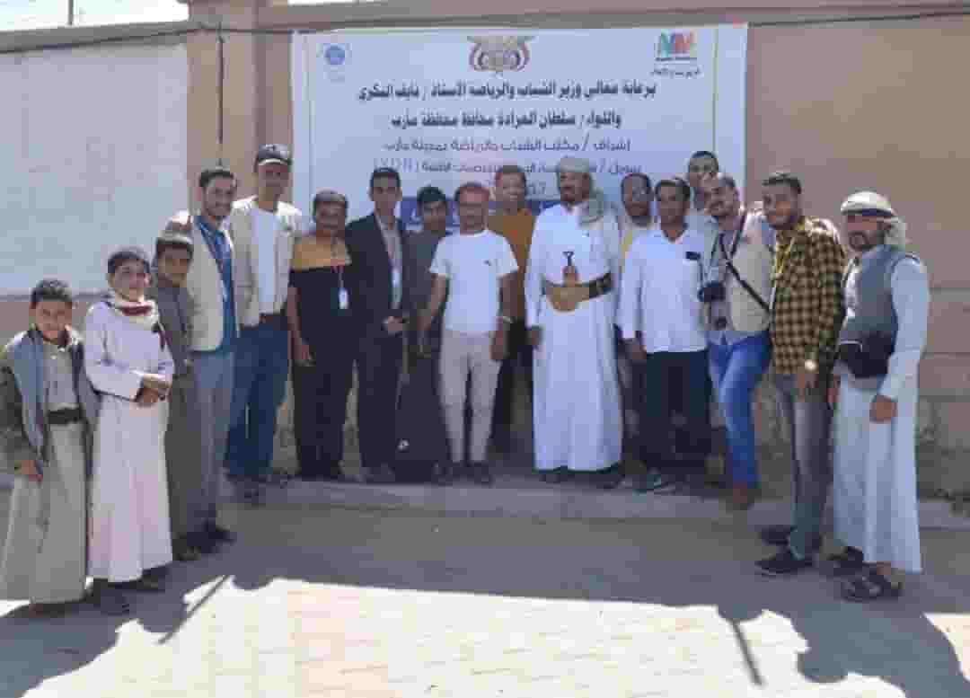 فريق صناع الإعلام ينفذ حملة ( لن ننساكم ) تحت شعار نتطوع معا نبني اليمن